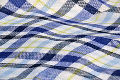 Texture - picnic blanket Stock Photo