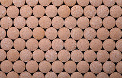 Texture of the pills Stock Photos