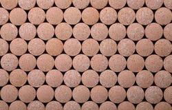 Texture of the pills Stock Photos