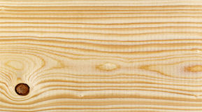 Texture of pine wood plank Stock Images