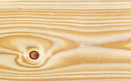 Texture of pine wood plank Stock Photography