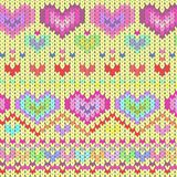 Texture pink hearts. Vector graphic illustration design art Royalty Free Stock Image