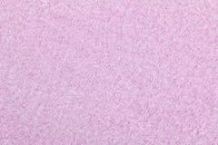 Texture of pink heat retaining fleece textile Stock Photography