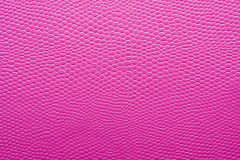 Texture of Pink imitation leather Royalty Free Stock Image