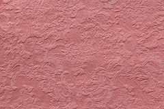 Texture pink jacquard fabric Royalty Free Stock Photo