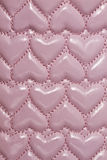 Texture of pink leather background Royalty Free Stock Photography