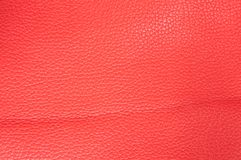 Texture of Pink leather Royalty Free Stock Photo