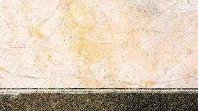 Texture of pink marble luxury wall at classic home building background. Texture of pink marble wall at classic home building background stock images