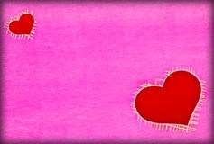 Texture pink paper background and heart Stock Photo