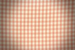 Texture of Pink and White Plaid. For Wallpaper Royalty Free Stock Images