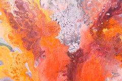 Texture a pintura a óleo, textura dos cursos da escova, cores vibrantes imagem de stock
