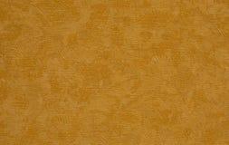 Texture a pintura um teste padrão interessante da laranja brilhante Fotos de Stock Royalty Free