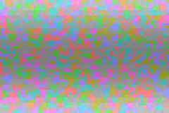 Texture with pixel square blocks. Abstract colorful glitch gradient background.  Mosaic tetris pattern. Abstract colorful glitch gradient background. Texture vector illustration