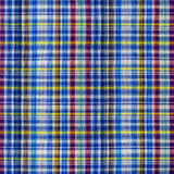 Texture of plaid fabric Stock Photo