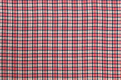Texture of Plaid Fabric Royalty Free Stock Images