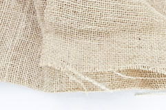 Texture of plait brown sack, hessian Royalty Free Stock Photography