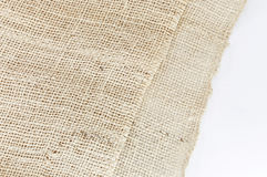Texture of plait brown sack, hessian Royalty Free Stock Image