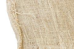 Texture of plait brown sack, hessian Stock Photo
