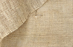 Texture of plait brown sack, hessian Stock Image