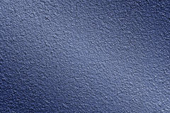 Texture of plaster in blue Royalty Free Stock Photography