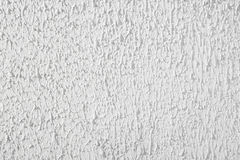 Texture plaster stucco background, white wall, rough putty Royalty Free Stock Photography