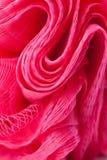 Texture of plastic bath sponge Royalty Free Stock Image