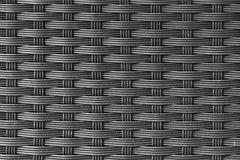 The texture of plastic weave  basket. Handmade basket Stock Image