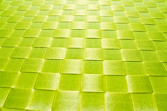 Texture of plastic woven mat Royalty Free Stock Photography