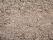 Pressed Wooden Panel OSB. Seamless Tileable Texture. Stock Images