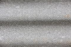 Texture of plywood with horizontal fluting. In grey colors Stock Photography