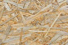 Texture of plywood from large wood chips.  royalty free stock images