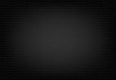 Texture pointillée sur le fond noir Photo libre de droits