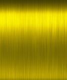 Texture polie brillante d'or Image libre de droits
