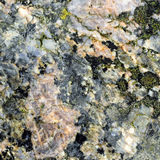 Texture of the polished surface of Filipstad Granite, macro shot Royalty Free Stock Photo