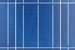 Texture of polycrystalline solar cells Stock Images