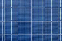 Texture of polycrystalline solar cells Royalty Free Stock Photography