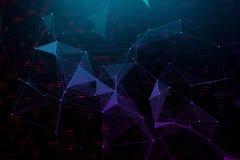 Texture polygonale créative Image libre de droits