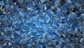 Texture polygonale de fond abstrait Image libre de droits