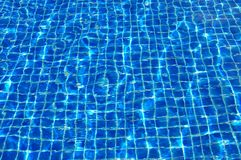 Texture in the pool Royalty Free Stock Photo
