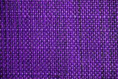 Texture pourprée de tissu Fond pourpre de tissu Fermez-vous vers le haut de la vue de la texture et du fond pourpres de tissu Photos libres de droits