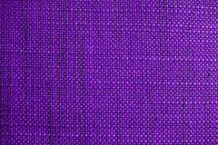Texture pourprée de tissu Fond pourpre de tissu Fermez-vous vers le haut de la vue de la texture et du fond pourpres de tissu Photos stock