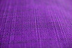Texture pourprée de tissu Fond pourpre de tissu Fermez-vous vers le haut de la vue de la texture et du fond pourpres de tissu Photographie stock