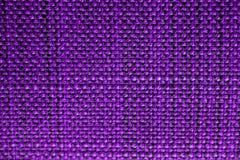 Texture pourprée de tissu Fond pourpre de tissu Fermez-vous vers le haut de la vue de la texture et du fond pourpres de tissu Images stock