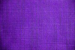 Texture pourprée de tissu Fond pourpre de tissu Fermez-vous vers le haut de la vue de la texture et du fond pourpres de tissu Image libre de droits