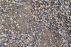Texture poussiéreuse de gravier Image stock