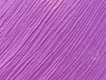 Texture of pressed fabric in lilac color. Shallow depth of field Stock Image