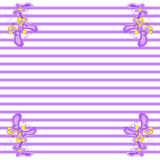 Texture with pretty flying butterflies on background. Stock Image