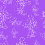 Texture with pretty flying butterflies on background. Royalty Free Stock Image
