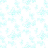 Texture with pretty flying butterflies on background. Royalty Free Stock Photography