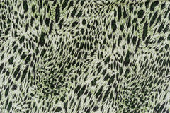 Texture of print fabric striped leopard Royalty Free Stock Images